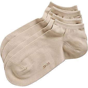 Esprit klassieke Sneaker 2-Pack sokken - crème