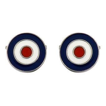 David Van Hagen RAF Cufflinks - Blue/White/Red