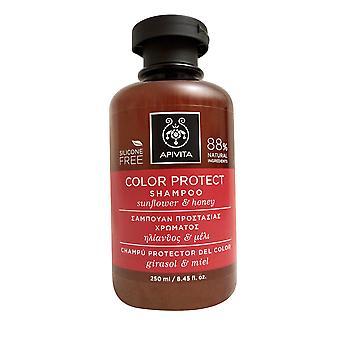 Apivita Color Protect Shampoo Sunflower & Honey 8.45 OZ