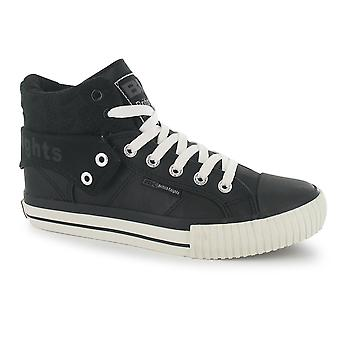 British Knights Womens Roco PU Lds00 Lace Up Plimsolls Shoes Trainers New