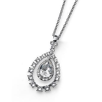 Oliver Weber Pendant Duke Rhodium Crystal