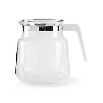 Broc en verre nedis KACM001CPWT 1.2 L blanc