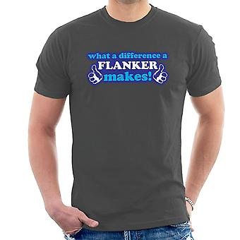 What A Difference A Flanker Makes Men's T-Shirt