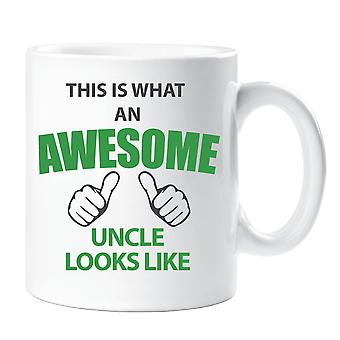 This is What an Awesome Uncle Looks Like Mug