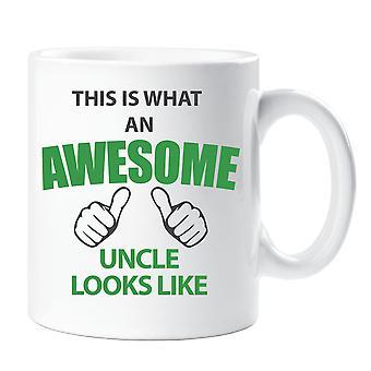 Esto es lo que un impresionante tío mira como taza