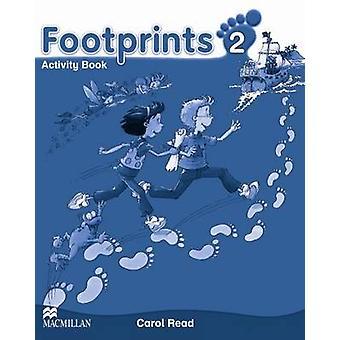Footprints 2 - Activity Book by Carol Read - 9780230012011 Book