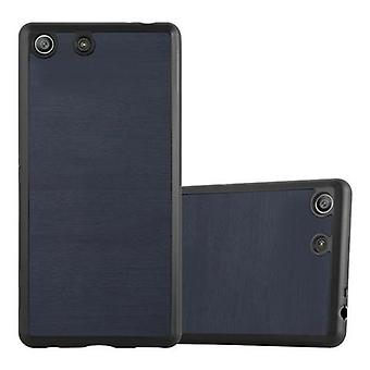 Cadorabo fodral för Sony Xperia M5 fallskydd - Flexibel TPU Silikon telefonfodral - Silikon fall skyddande fodral Ultra Slim Soft Back Cover Case Bumper
