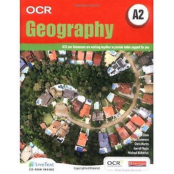 OCR A2 geografi Student bok med LiveText