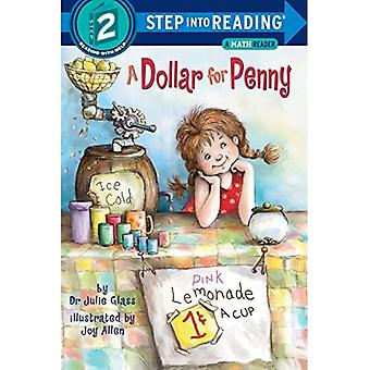 A Dollar for Penny (Step Into Reading + Math: A Step 2 Book)
