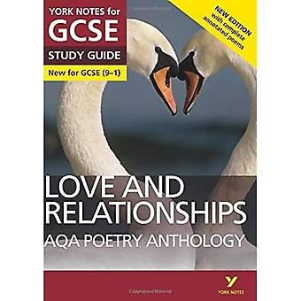 AQA-Lyrik-Anthologie - Liebe und Beziehungen: York Notes für GCSE (9-1): zweite Auflage - York Notes