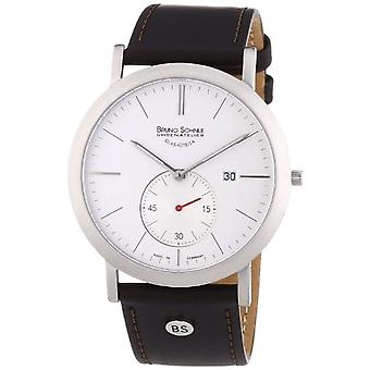 Bruno S_hnle analog quartz watch with leather band _ 17-13086-245