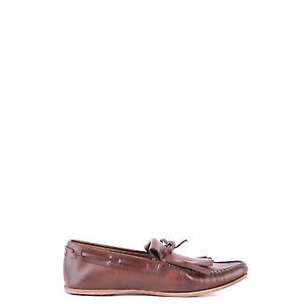 Car Shoe Ezbc029023 Men's Brown Leather Loafers