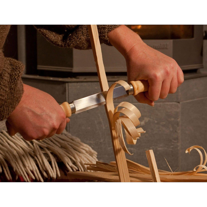 Mora 220 Classic Holz aufteilen Knife - Zugmesser Pushknife - Made in Schweden