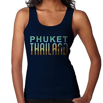 Colete de Phuket Sunset silhueta feminina
