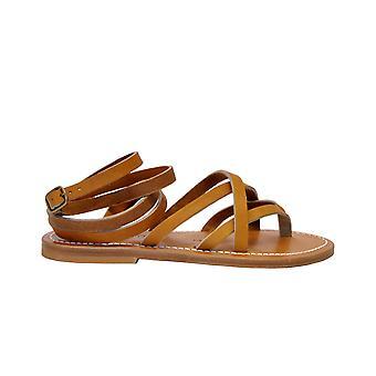 K.jacques Zenobiepulnaturel Femmes-apos;sandales en cuir brun