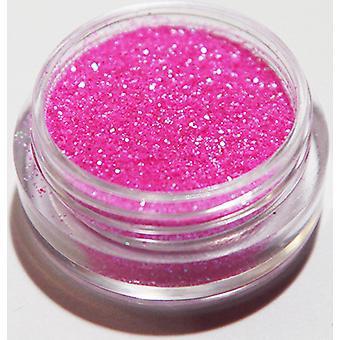 1pcs feinkörnigen Glitzer rosa