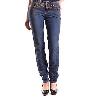 John Galliano Ezbc164026 Women's Blue Denim Jeans