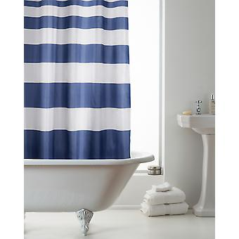 Country Club Hookless Shower Curtain, Nautical