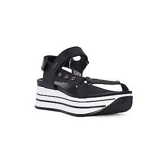 IGI & co svarta vege sandaler