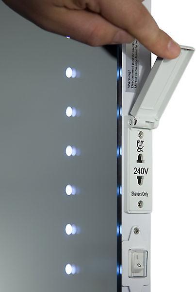 Salle de bains Audio rasoir Miroir avec Bluetooth et capteur K8sAud