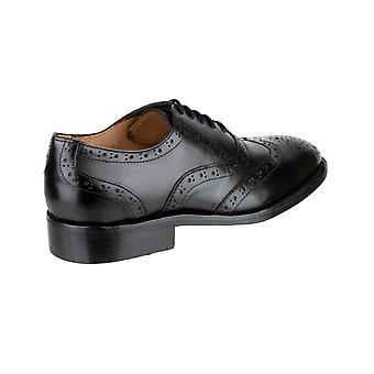 Amblers Ben in pelle con suola scarpa / scarpe uomo