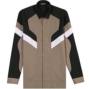 Neil Barrett Pattern Shirt Khaki