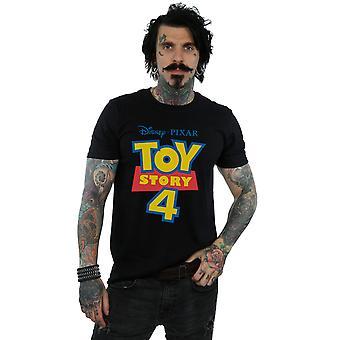 Disney Men's Toy Story 4 Logo T-Shirt