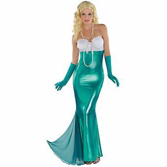 Mulheres sexy traje adulto sereia