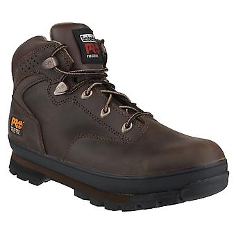 Timberland Pro Mens Euro Hiker Lace-up Safety Boot Brown Oiled