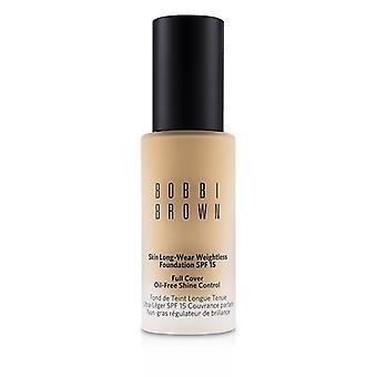 Bobbi Brown Skin långa slitage viktlös Foundation SPF 15-# cool sand-30ml/1oz