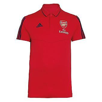 2019-2020 Arsenal Adidas Polo Shirt (Red)