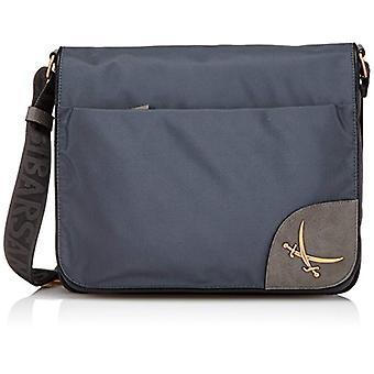Sansibar B-845 PO Women's Grey shoulder bag (Grey 16)) 34x29x8 cm (B x H x T)