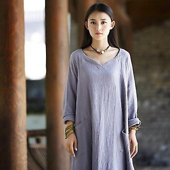 Original Loose Maxi Autumn Long Sleeve Dress