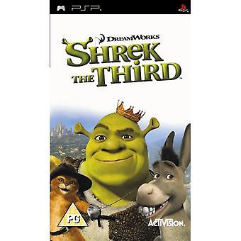 Shrek den tredje (PSP)-ny