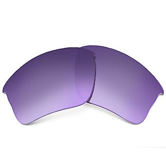 Replacement Lenses for Oakley Flak Jacket XLJ Frame Purple Gradient Anti-Scratch Anti-Glare UV400 by SeekOptics