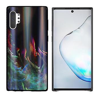 Rückenabdeckung Aurora Glas für Samsung Note 10 Plus grün