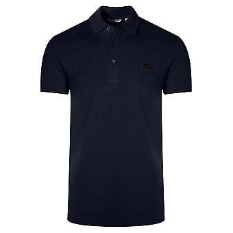 Antony Morato Sport Dark Blue Logo Polo Shirt