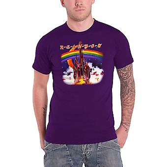 Rainbow Silver Mountain Official Mens New Purple T Shirt