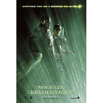 The Matrix Revolutions (Double Sided Style B) Original Cinema Poster