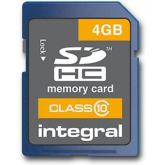 Integral 4Gb SDHC High-Speed Class 10-Karte