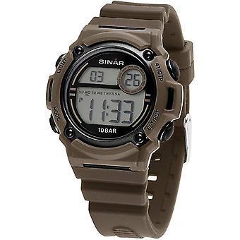 SINAR Youth Watch Wristwatch Digital Quartz Unisex Silicone Strap XE-67-5