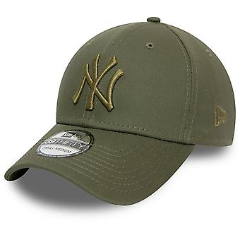New Era 39Thirty Flexfit Cap - New York Yankees oliv