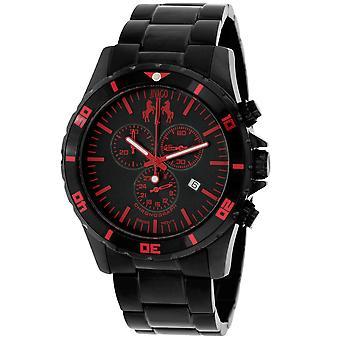 Jivago Men's Ultimate Black Dial Watch - JV6126