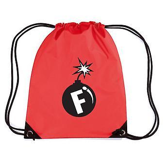 Zainetto rosso trk0829 f bomb