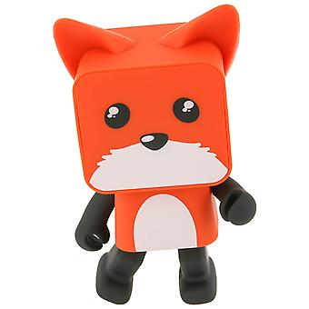 Bluetooth Dancing Fox Wireless Speaker Microphone Music Free Hand Kit - MOB