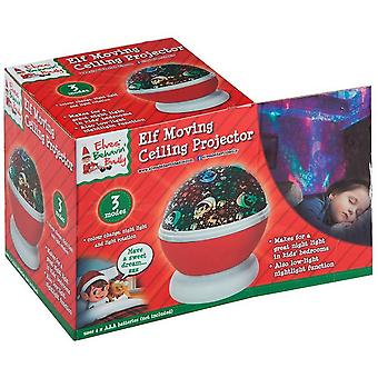 Elves Behavin Badly Kids/Childrens Santas Galaxy Dazer Christmas Ceiling Projector