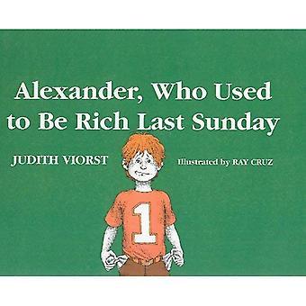 Alexander, que costumava ser rico último domingo