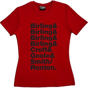 Un ispettore chiama line-up Red Women's T-Shirt
