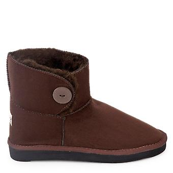 Antarctica - petite women's ankle boot, brown