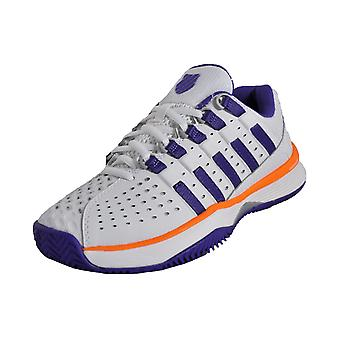 K Swiss Hypercourt HB vit/lila/orange